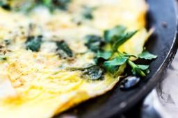 Torta de Berro: Watercress Fritatta