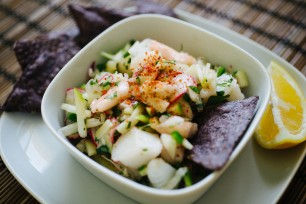 Apple-Jicama Ceviche