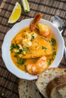 Salvadorian Seafood Chowder