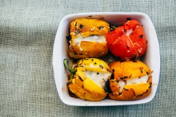 The Farmers Market & Stuffed Bell Peppers