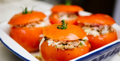 Summer Stuffed Tomatoes