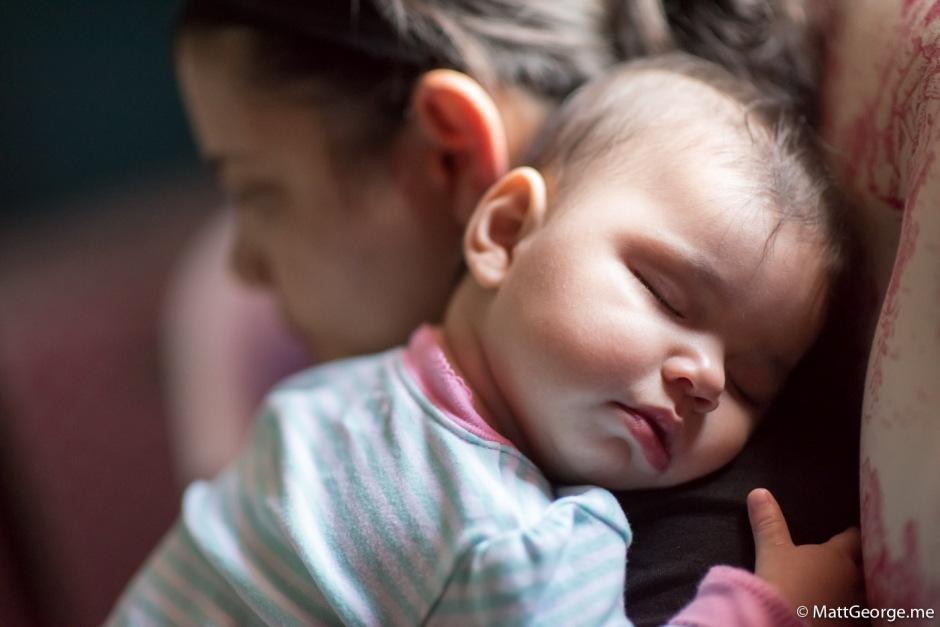 Baby Gianna Sleeping