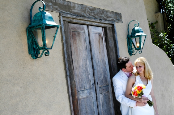 Bride and Groom Kissing - MattGeorge.me