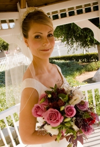 Bride and Flowers - MattGeorge.me