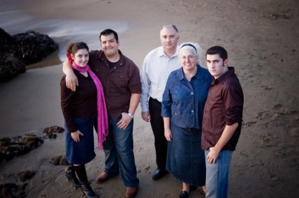 Family at Beach Portrait