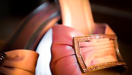 Pink Bridal Shoes - MattGeorge.me