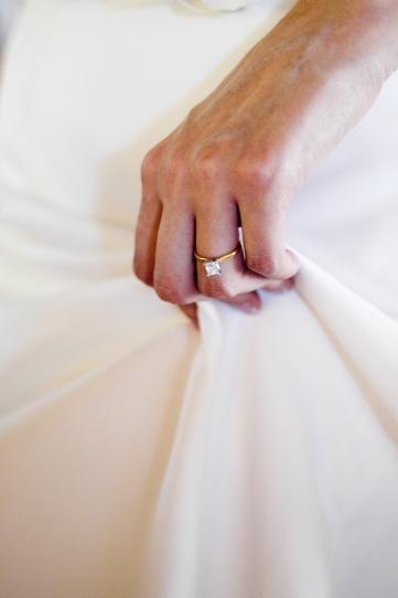 Bridal Wedding Ring with Dress - MattGeorge.me