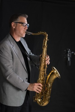 Saxophone Musician Portrait