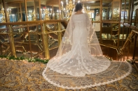 Bridal Dress Stretched Out