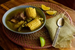My Mom's Sopa de Res: Salvadorian Beef and Vegetable Soup